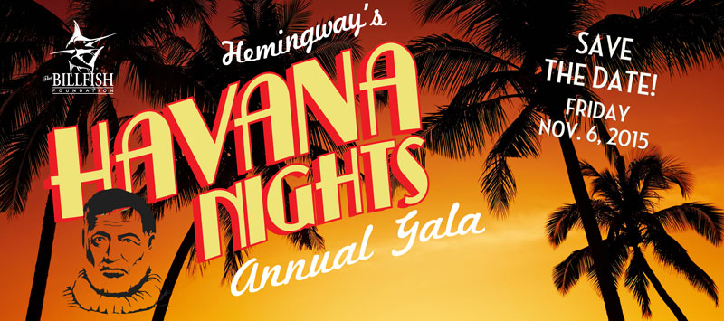 Join TBF for Hemingway's Havana Nights!